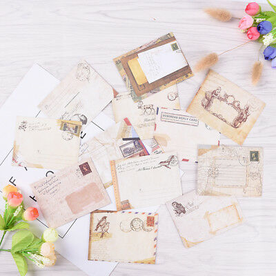 12pcs Mini Envelopes Colored Gift Card Small Metallic Designs Paper Envelope YJ