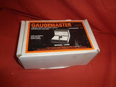 Gaugemaster Series 100 M Single Track Train Model Railway Controller boxed