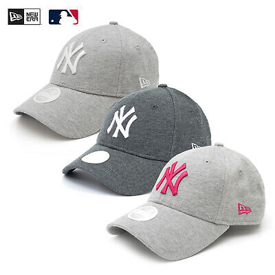 New Era Mlb 9Forty Cap Ny Yankees Baseball Women Kappe Verstellbar Jersey Grau!