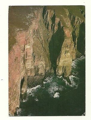 Orkney - a larger format, photographic postcard of the Cliffs of Hoy