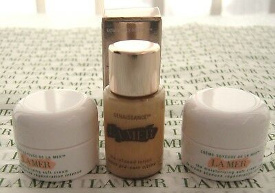 La Mer Genaissance  NEW.GIFT SET THE INFUSED LOTION 5 ML & 2 X 3.5 ML SOFT CREAM