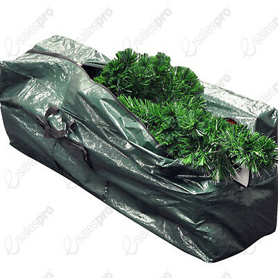 Christmas Tree & Decoration Storage Bag - Zip - 48 x 120 x 33cm - kingfisher