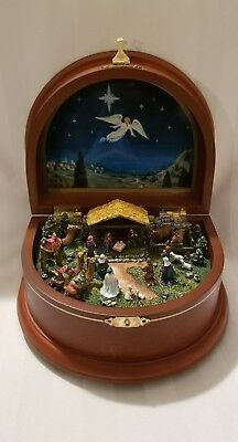 The Nativity Music Box by The Danbury Mint