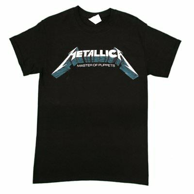 Metallica Master Of Puppets Logo Unisex Official T Shirt Brand New Various Sizes