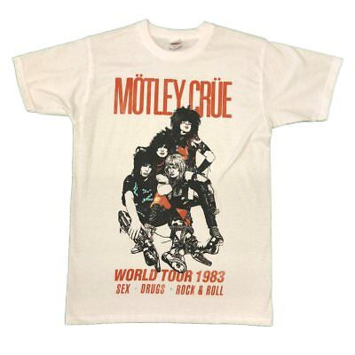 Motley Crue Vintage Unisex Official T Shirt Brand New Various Sizes