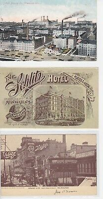 Schlitz Brewing And Other Related Postcards