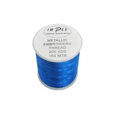 Trimits Metallic Embroidery Sewing Thread 184m