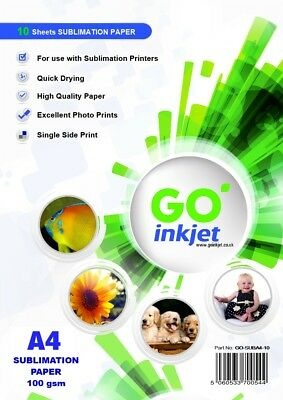 A4 Sublimation Paper Transfer Paper for Heat Press GO Inkjet