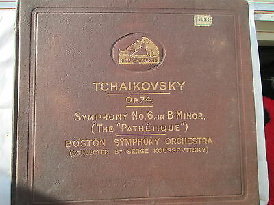 Tchaikovsky Symphony No.6 in B Minor Op. 74 The Pathetique - Serge Koussevitzky