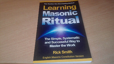 Learning Masonic Ritual  Book by Rick Smith in excellent condition