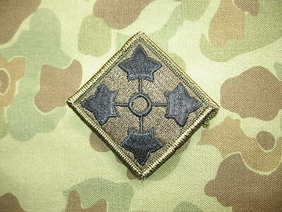 4th Infantry Division Patch - Armabzeichen US Army Vietnam REFORGER Cold War