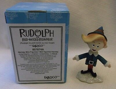 Enesco Rudolph and the Island of Misfit Toys Figure ~ Hermey the Elf / Dentist