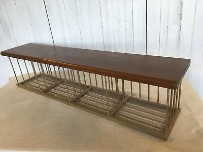 Vintage Gym Bench Hall Bench Shoe Rack