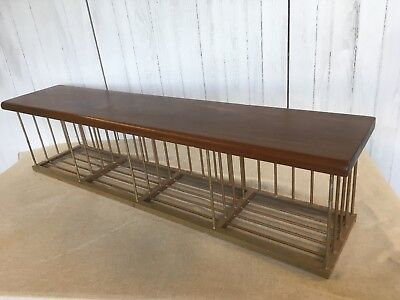 Vintage Shoe Bench Gym Bench Boot Rack
