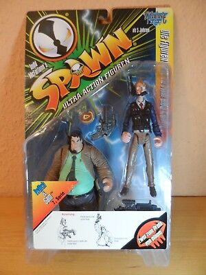 SPAWN Action Figur - TWITCH & SAM Serie 7 McFarlane 1997 OVP TOP MotU - NECA