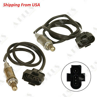 4x Oxygen Sensors for 02-04 Audi A4 A6 Quattro 03-06 Cayenne Up and Downstream