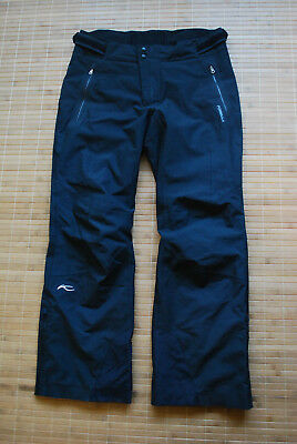 KJUS Formula Ski Pants Dermizax Waterproof Insulated Men's 52/L Genuine Trousers