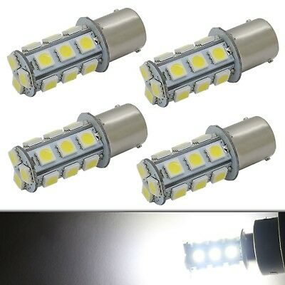 1156 1141 7506 P21W BA15S LED Interior Light Bulb RV Camper 18-5050 SMD 12V W...