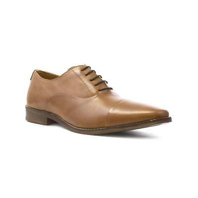 Red Tape Mens Tan Leather Lace Up Smart Shoe - Sizes 7,8,9,10,11,12
