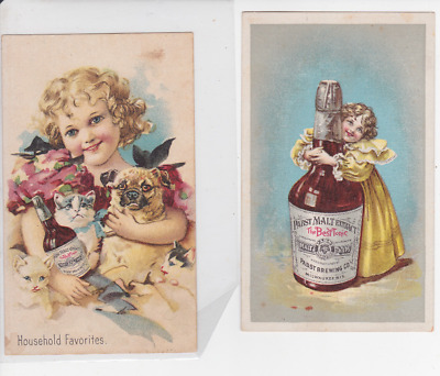 Pabst Malt Extract Tradecards