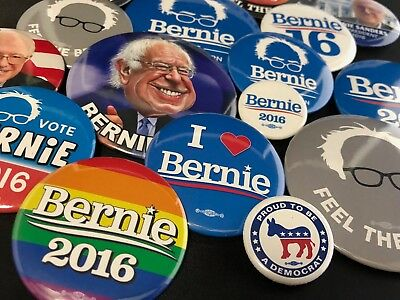 2016 Bernie Sanders Collector Button Sets w/ Free Car/Refrigerator Magnet