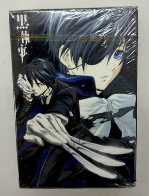 Black Butler Kuroshitsuji 03 Poker Spiel Karten Set playing trading cards anime