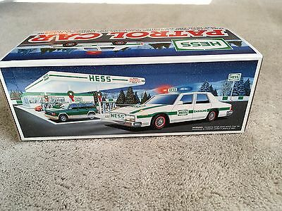 1993 Hess Toy Patrol Car W Siren - Excellent Mint New In Box