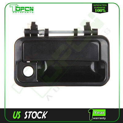 1Pc for 89-94 Swift Pontiac Sprint Black Exterior Door Handle Front Right Side