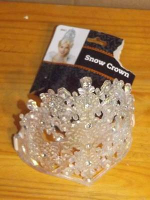 ADULT Size Snow Crown Costume Accessory FREE SHIPPING
