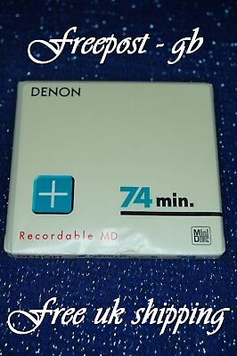 Very Rare & Collectable Denon Cmd-74N-G Audio Minidisc / Md - Brand New Boxed