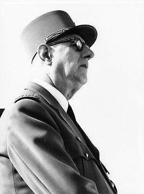 Photo originale général de Gaulle