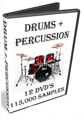 Drum + Percussion -  Native Instruments Kontakt-  Komplete-  Maschine-  Traktor