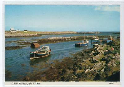 MILTON HARBOUR: Isle of Tiree postcard (C31212)