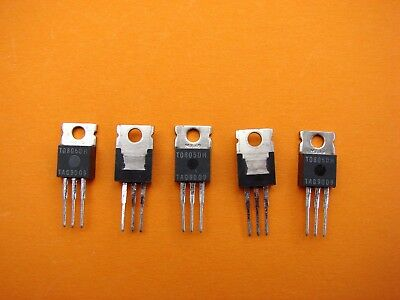 T0805Dh 400V 8A Triac  To220 Sensitive Gate Lot Of 5  Tag Semiconductors