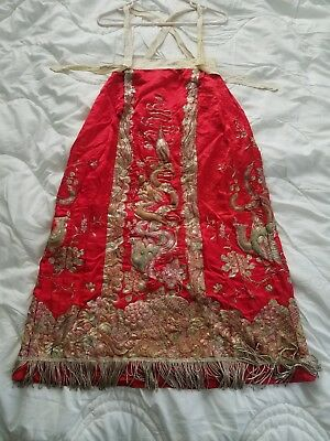 Vintage Hand Embroidered Chinese Skirt