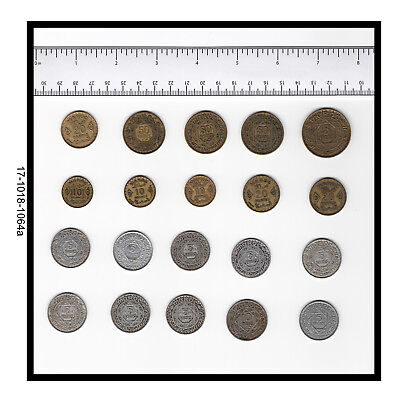 Lot of 20 Coins of Morocco
