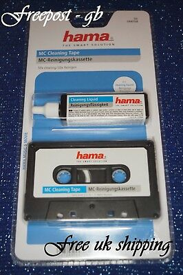 High Quality Hama Audio Cassette Head Cleaner - Wet Or Dry Use - With Fluid