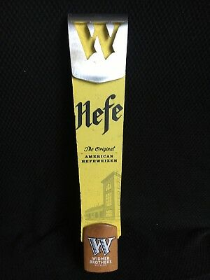 WIDMER BROTHERS BREWING CO HEFE 12 Inch BEER Clip TAP HANDLE Bar