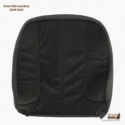 2004 2005 Dodge Ram 1500 SLT Driver Lean Back Replacement DARK GRAY Cloth Cover