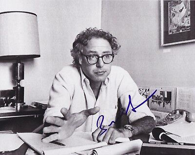 Senator Bernie Sanders Signed Democrat 8X10 Photo Autograph Coa Video Proof