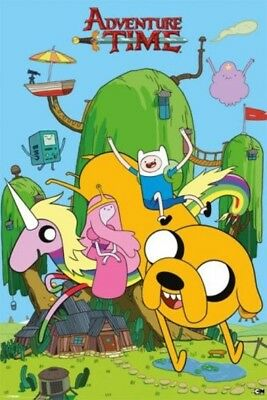 Adventure Time Finn and Jake Decorative Poster Unframed Free shipping