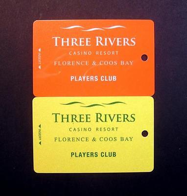 Casino Slot Players Cards Blank Three Rivers In Oregon   Free Shipping