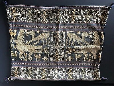 Vintage Sumba Woven Tapestry Pillow Cover (b) …beautiful tribal designs