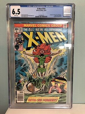 X-Men # 101 CGC 6.5 (Marvel, 1976) 1st full appearance of the Phoenix