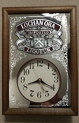 Vintage Lochan Ora Liqueur Wall Clock - Rare! Works Great! Looks Great!