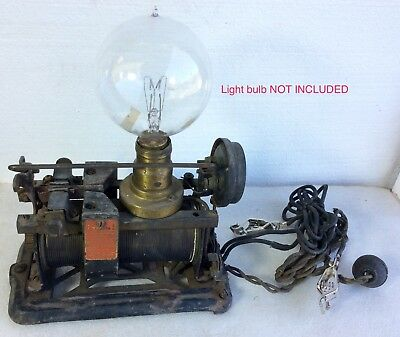 Antique •MAGNETIC RECTIFIER• Ford Model T old BRASS era auto •BATTERY CHARGER•