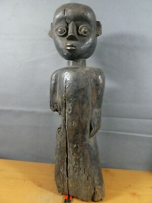 Authentic Tribal Festac Art - Dan Figure, Ivory Coast Africa Fes-Gb726