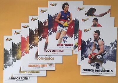 AFL Select 2017 Footy Stars Common Card Team Sets