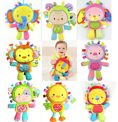 Cute Lion Elephant Soft Plush Toy Stuffed Animal Doll Pillow Baby Kids Xmas Gift