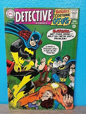 Detective Comics #371 (Jan 1968, DC) Batgirl Cover - 1st TV Batmobile